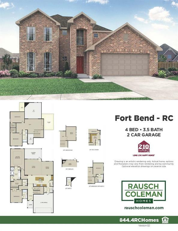 2318 Leonetti Lane, Rosenberg, TX 77471 (MLS #27394438) :: Texas Home Shop Realty