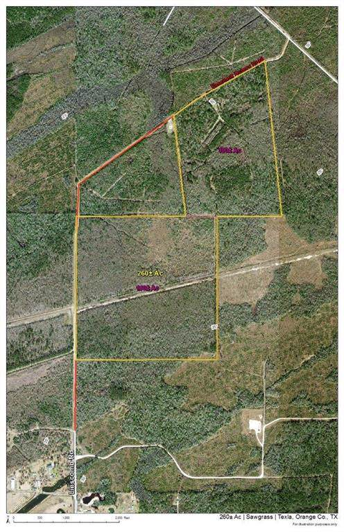 260 Ac Linscomb Road, Mauriceville, TX 77662 (MLS #27407486) :: The SOLD by George Team