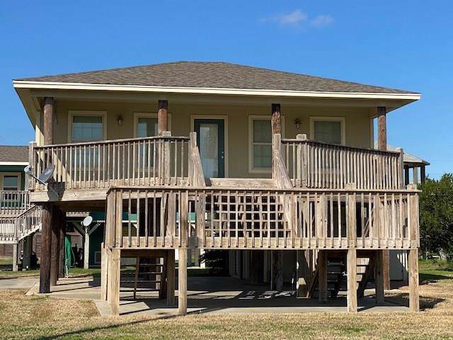 922 Eastview Dr, Crystal Beach, TX 77650 (MLS #29391216) :: Giorgi Real Estate Group