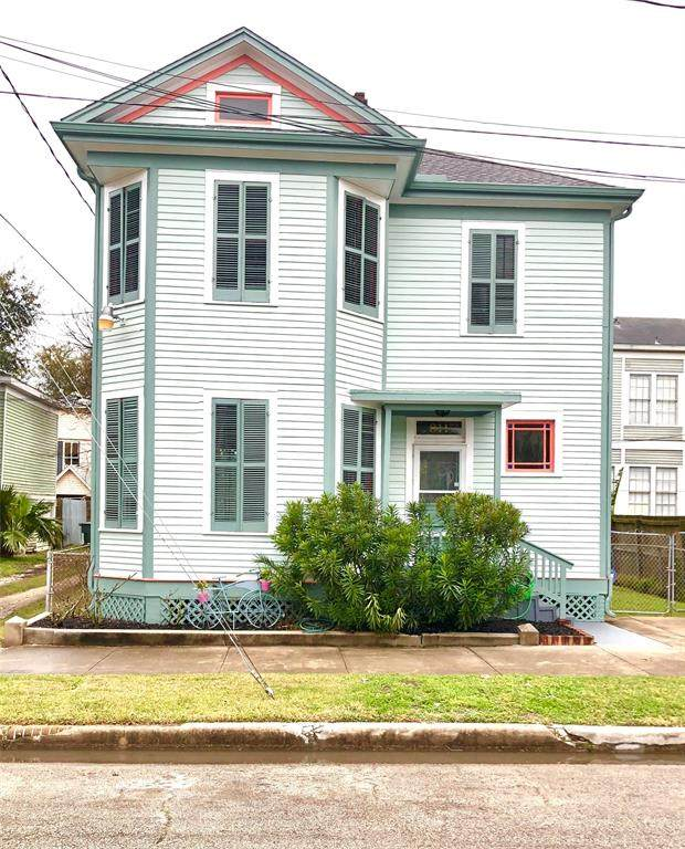 811 18th Street, Galveston, TX 77550 (MLS #29455751) :: My BCS Home Real Estate Group