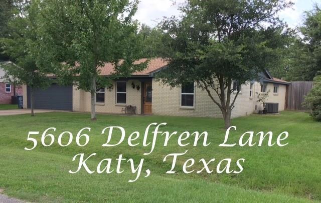 5606 Delfren Lane, Katy, TX 77493 (MLS #31559931) :: Krueger Real Estate
