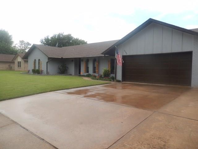 2702 Mcgill Drive, Other, OK 73703 (MLS #34137590) :: The Sansone Group