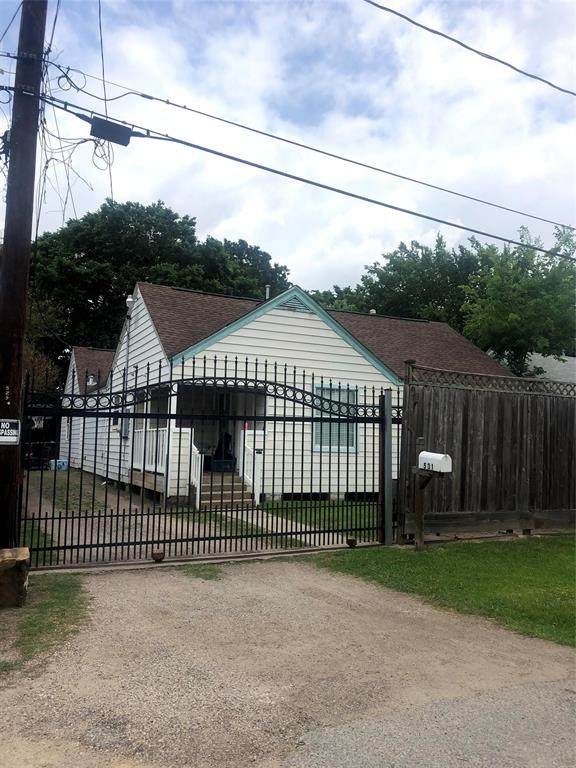 531 Dogwood St Street, Houston, TX 77022 (MLS #36588760) :: Texas Home Shop Realty