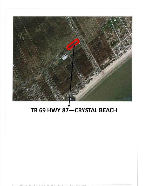 TR 69 Highway 87, Crystal Beach, TX 77650 (MLS #39379043) :: The Queen Team