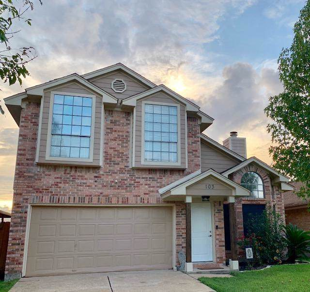 103 Cotton Drive, Lake Jackson, TX 77566 (MLS #41913357) :: The SOLD by George Team