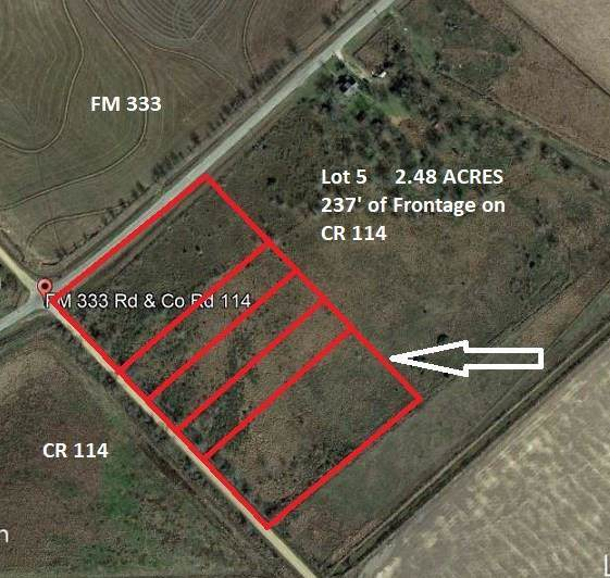 00000 Cr 114, Garwood, TX 77442 (MLS #42110629) :: The SOLD by George Team