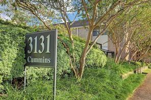 3131 Cummins Street #2, Houston, TX 77027 (MLS #43113883) :: The Johnson Team