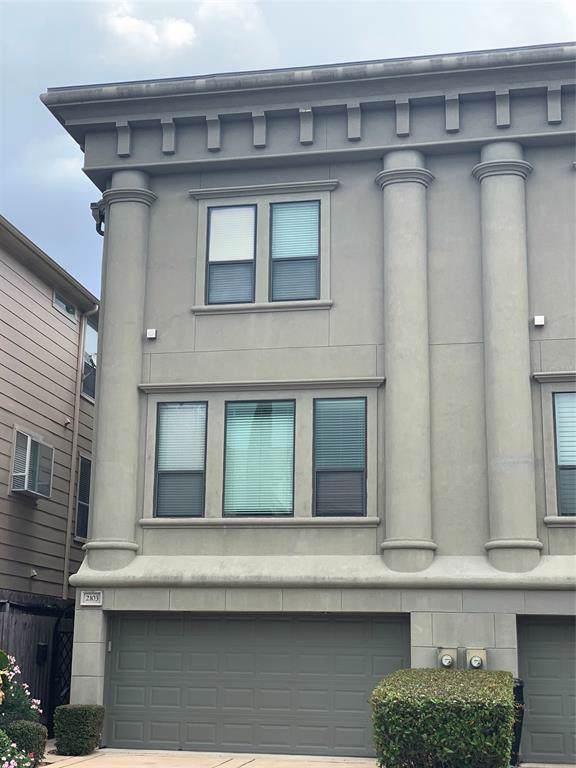 2103 Hazard Street, Houston, TX 77019 (MLS #44407877) :: Giorgi Real Estate Group