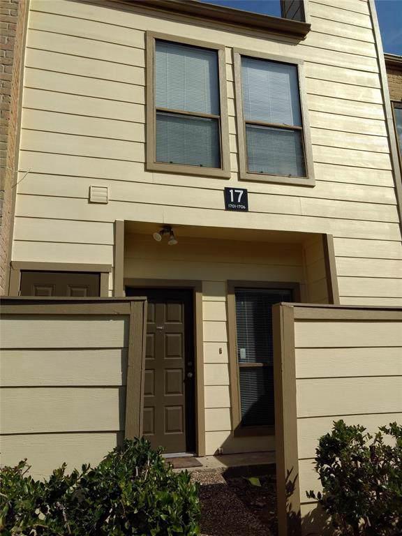 8299 Cambridge Street #1706, Houston, TX 77054 (MLS #44899193) :: Ellison Real Estate Team