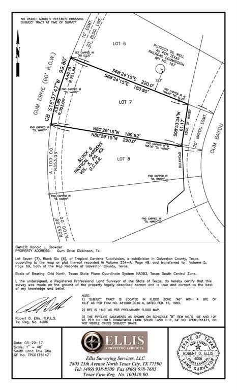 000 Gum Drive, Dickinson, TX 77539 (MLS #46363306) :: Ellison Real Estate Team