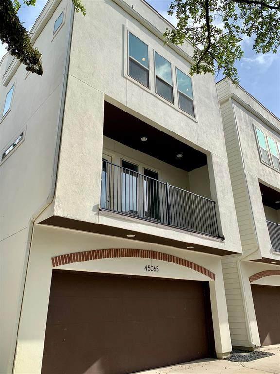 4506 Mount Vernon Street B, Houston, TX 77006 (MLS #4884254) :: The SOLD by George Team