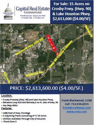 0 Hwy 90 Road, Houston, TX 77049 (MLS #50086254) :: Fairwater Westmont Real Estate