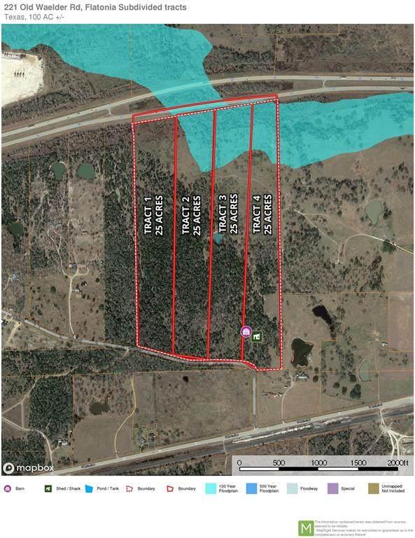 001 Old Waelder Road, Flatonia, TX 78941 (MLS #51527784) :: The Heyl Group at Keller Williams