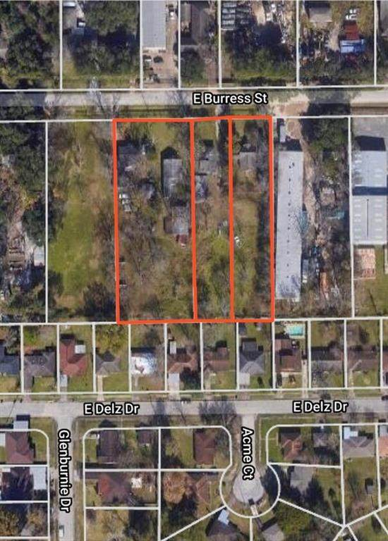 208, 216,218 E Burress Street, Houston, TX 77022 (MLS #53365344) :: The Home Branch
