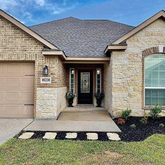 18708 Encinal Trail, Magnolia, TX 77355 (MLS #55775609) :: My BCS Home Real Estate Group