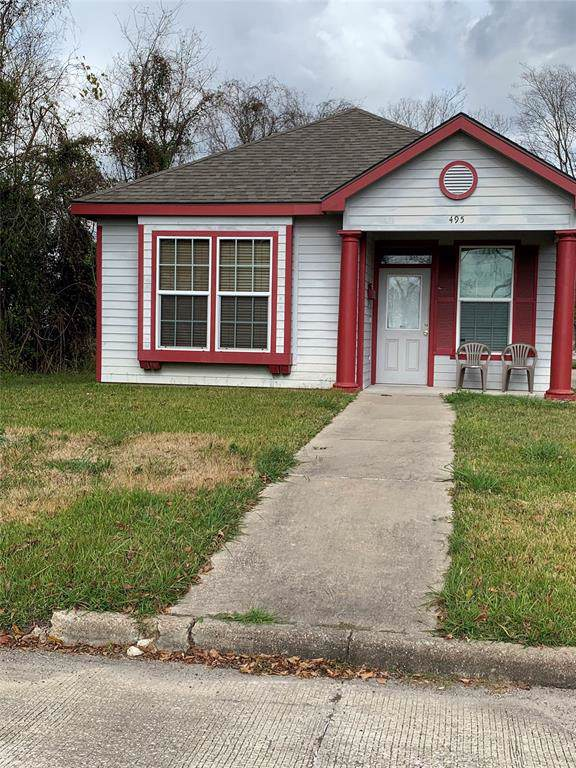 495 Flowers Street, Beaumont, TX 77701 (MLS #56790390) :: Ellison Real Estate Team