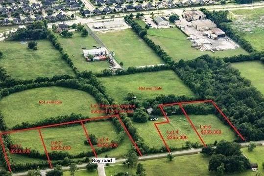 00 Roy- Lot 2 Roads, Pearland, TX 77581 (MLS #5712528) :: Homemax Properties
