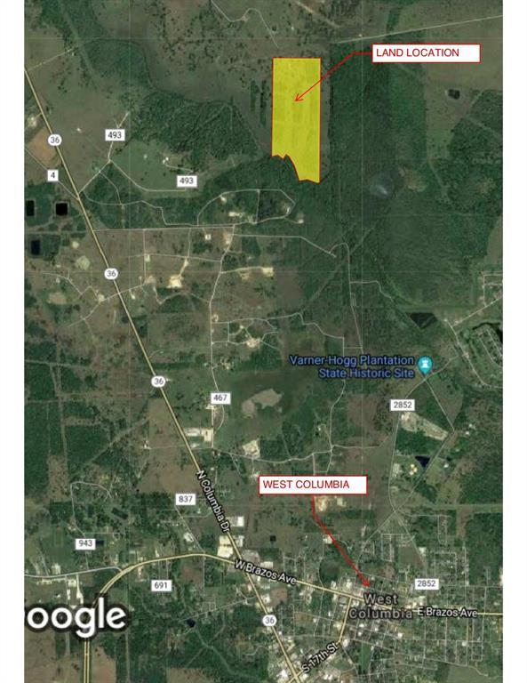 0 County Road 483 Off Pvt R, West Columbia, TX 77486 (MLS #58168999) :: The Heyl Group at Keller Williams