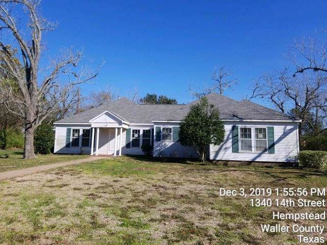 1340 14th Street, Hempstead, TX 77445 (MLS #61302126) :: NewHomePrograms.com LLC