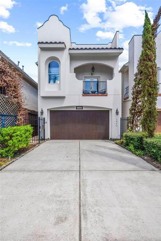 1540 Lawrence Street, Houston, TX 77008 (MLS #6468050) :: Caskey Realty
