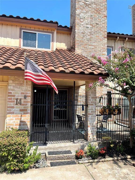 5918 San Felipe Street #14, Houston, TX 77057 (MLS #68519813) :: The Bly Team