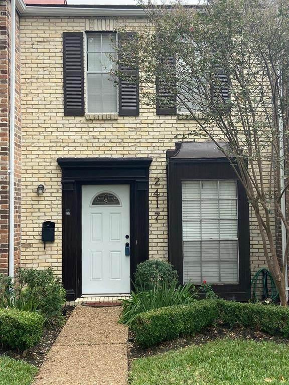 2417 Briar Ridge, Houston, TX 77057 (MLS #70510682) :: Texas Home Shop Realty