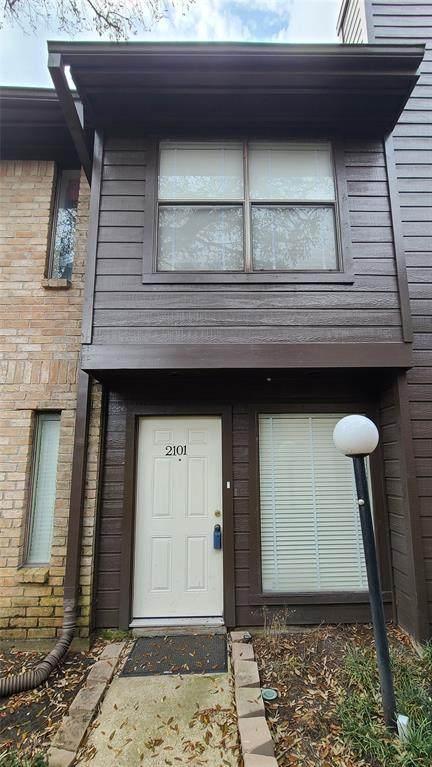 8020 Braesmain Drive #2101, Houston, TX 77025 (MLS #71792589) :: Texas Home Shop Realty