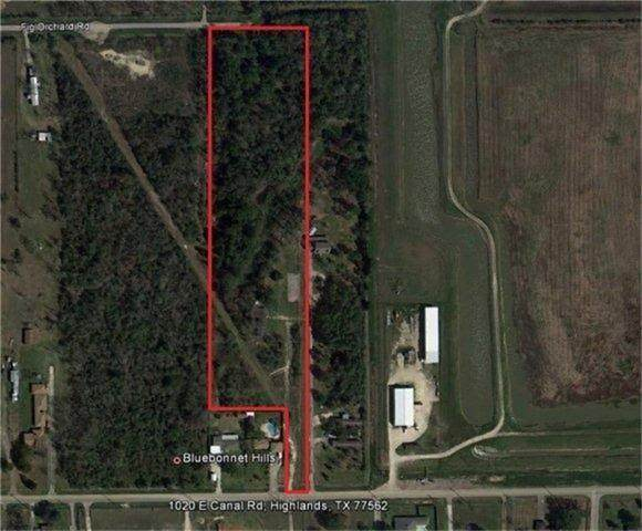 0 E Canal Road, Highlands, TX 77562 (MLS #73066574) :: The SOLD by George Team