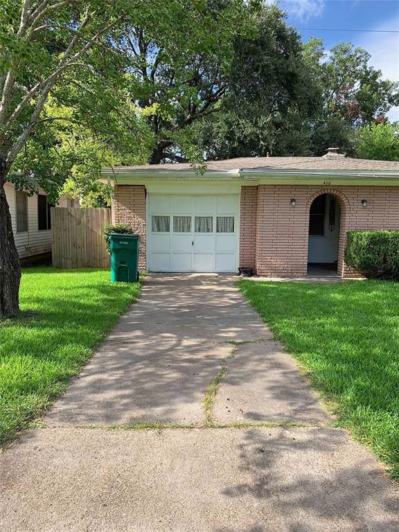 416 Robbie Street, La Marque, TX 77568 (MLS #73241634) :: The Heyl Group at Keller Williams