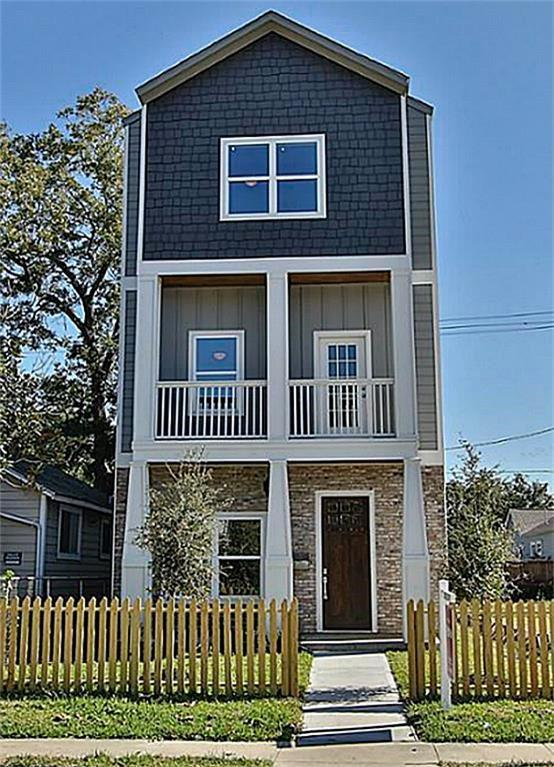 1006 Enid Street A, Houston, TX 77009 (MLS #76245274) :: The SOLD by George Team