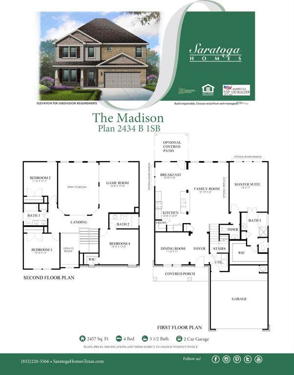 9926 Tammy Lane, Magnolia, TX 77354 (MLS #77435358) :: The SOLD by George Team