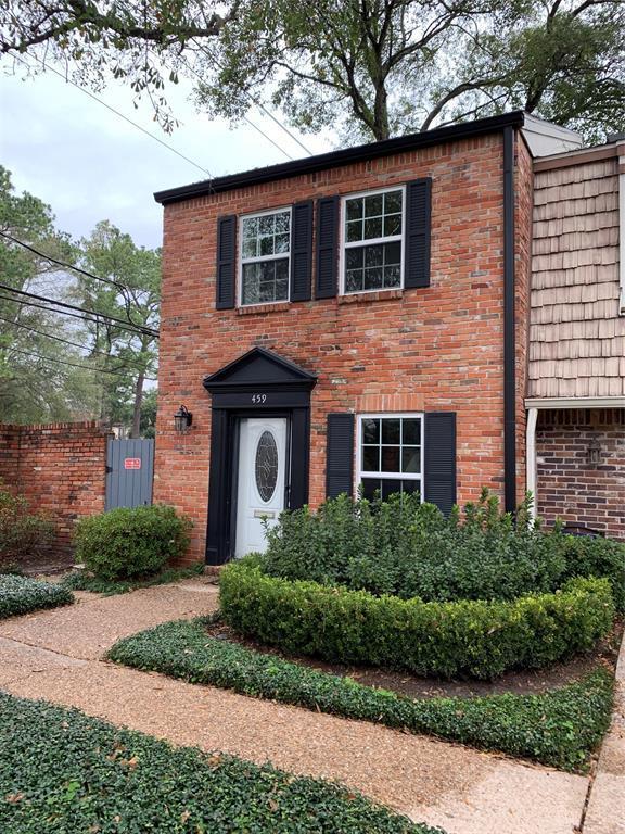 459 Bendwood Drive, Houston, TX 77024 (MLS #77984521) :: The Heyl Group at Keller Williams