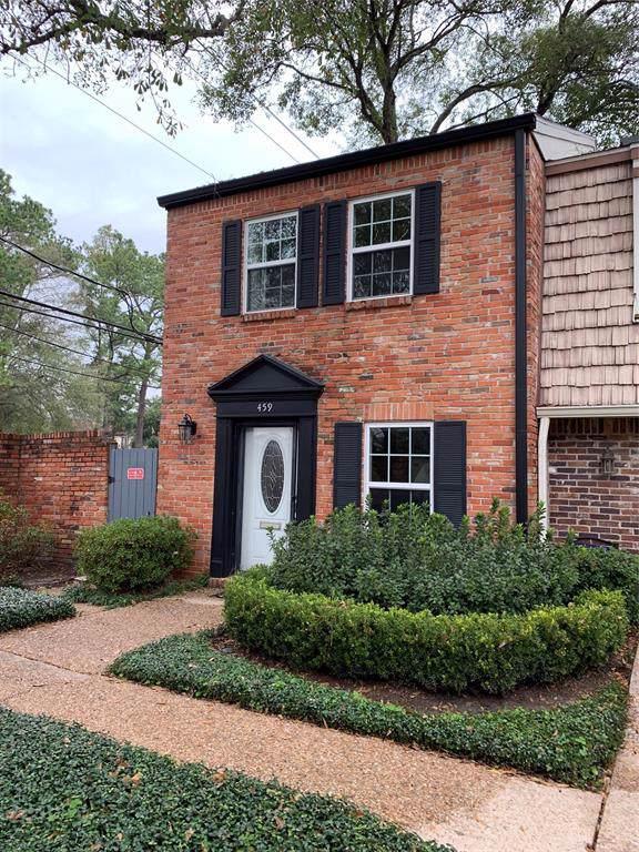 459 Bendwood Drive, Houston, TX 77024 (MLS #82091380) :: Texas Home Shop Realty
