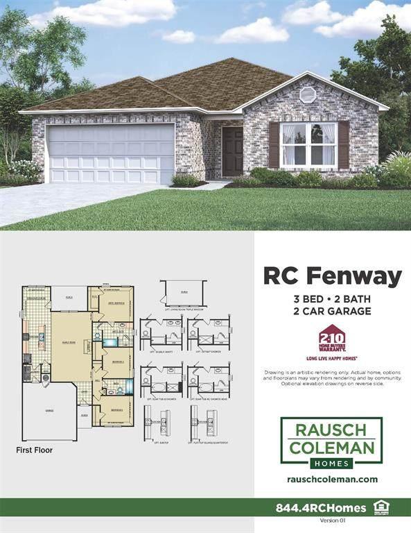 631 E Fairway Lake Drive, Alvin, TX 77511 (MLS #82689805) :: NewHomePrograms.com LLC