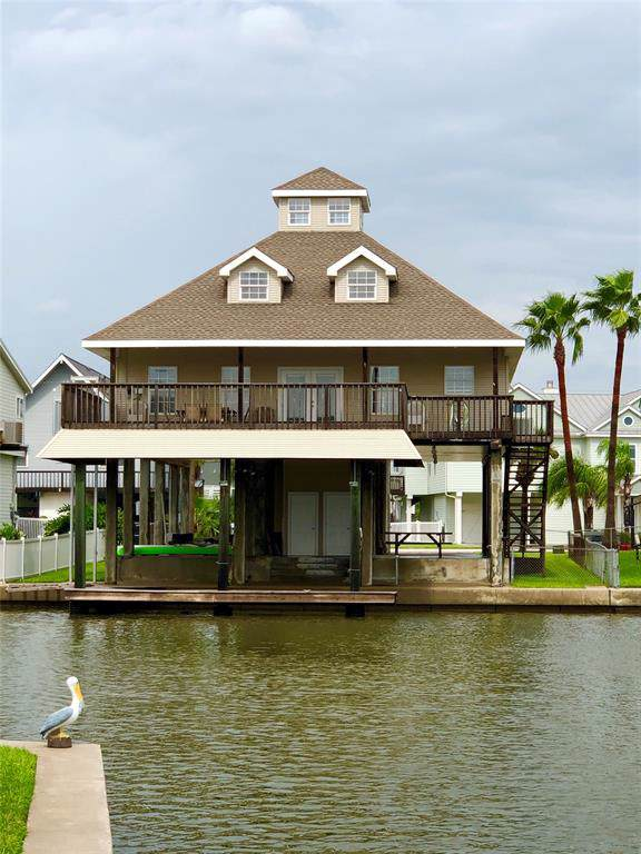 515 Paradise Drive, Tiki Island, TX 77554 (MLS #83702827) :: The Parodi Team at Realty Associates