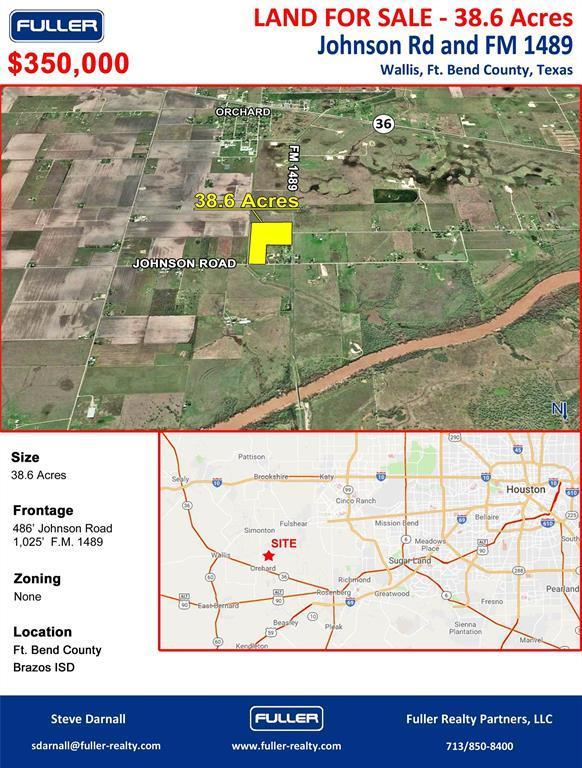 0000 Fm 1489, Wallis, TX 77485 (MLS #84161320) :: Texas Home Shop Realty
