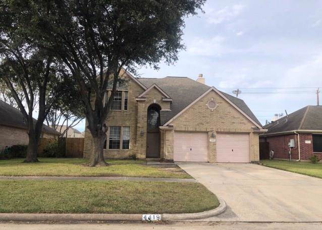 4419 Osage Drive, Baytown, TX 77521 (MLS #84418188) :: The SOLD by George Team