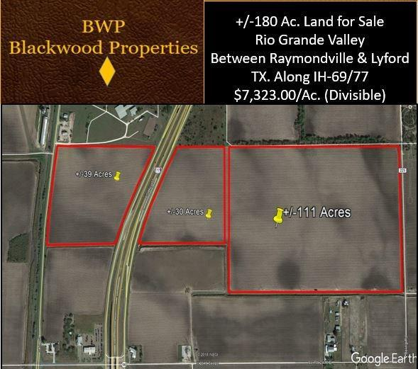 0 Ih 69 Highway N, RAYMONDVILLE, TX 78570 (MLS #86005680) :: Bray Real Estate Group