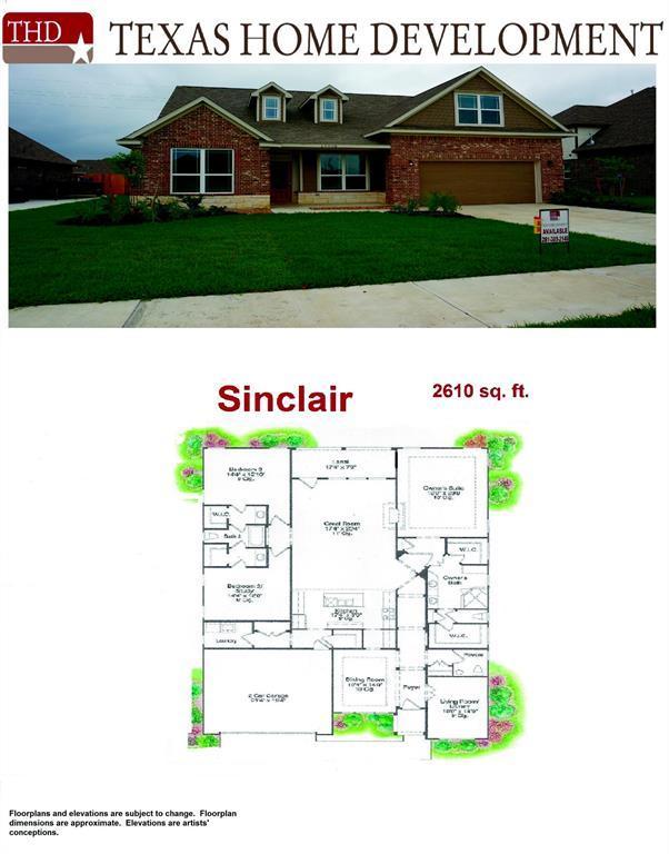 14611 Saratoga, Mont Belvieu, TX 77523 (MLS #86179356) :: The Sansone Group