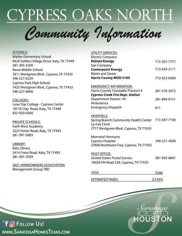 21331 Cypress Conifer Drive, Cypress, TX 77443 (MLS #86188372) :: Caskey Realty