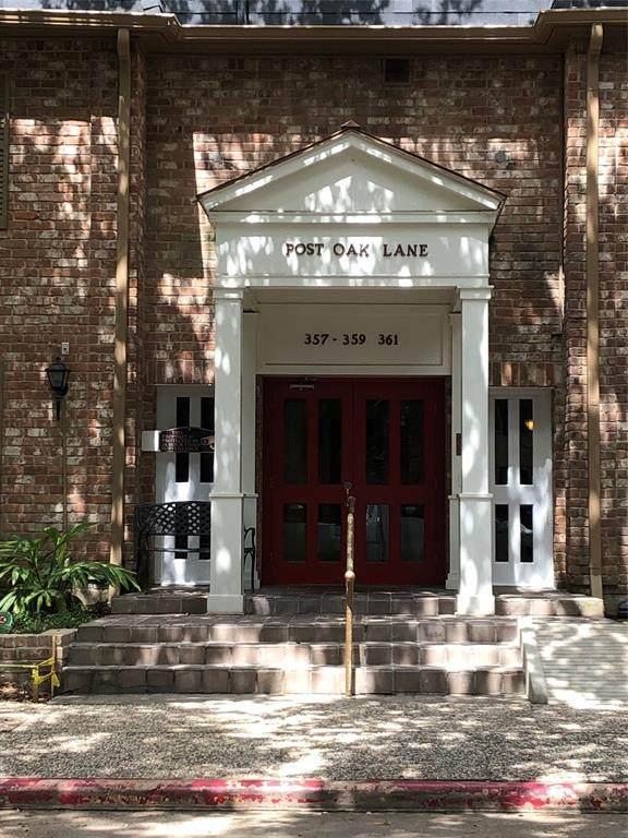 357 N Post Oak Lane #201, Houston, TX 77024 (MLS #8682339) :: Lerner Realty Solutions