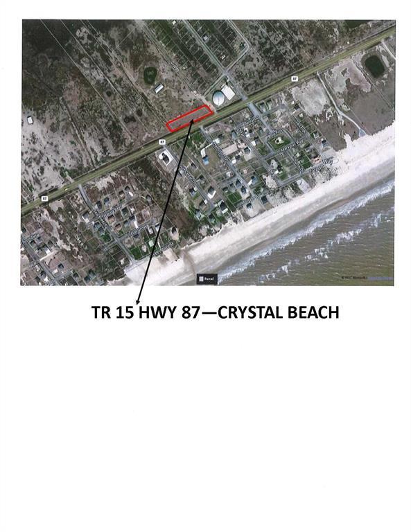 TR 15 Hwy 87, Crystal Beach, TX 77650 (MLS #87302112) :: Texas Home Shop Realty