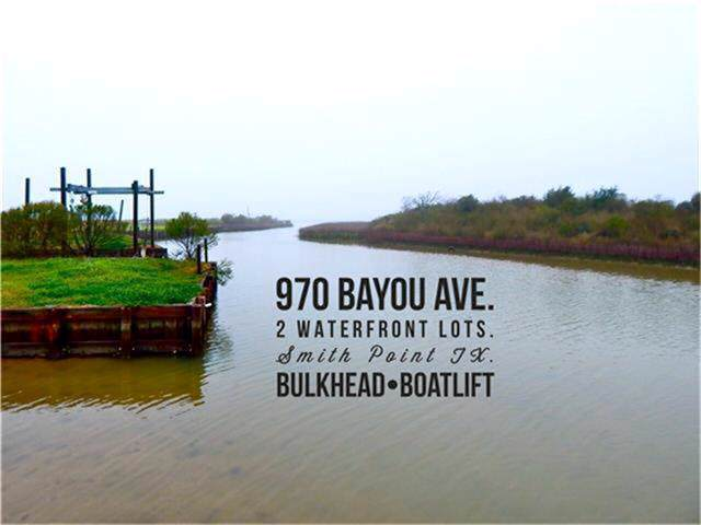 970 Bayou Avenue, Smith Point, TX 77514 (MLS #89945346) :: NewHomePrograms.com LLC