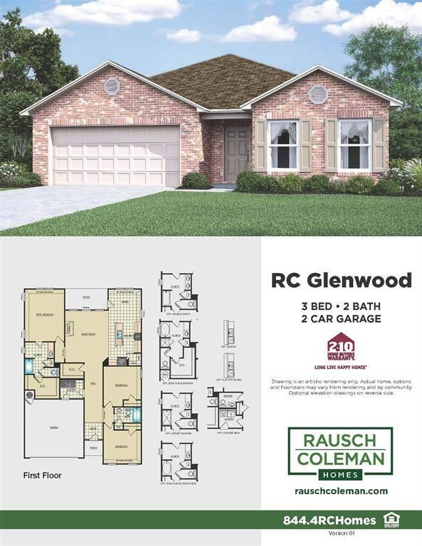 637 E Fairway Lake Drive, Alvin, TX 77511 (MLS #91653270) :: NewHomePrograms.com LLC