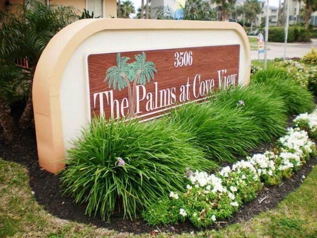 3506 Cove View Boulevard #510, Galveston, TX 77554 (MLS #92041581) :: The Bly Team