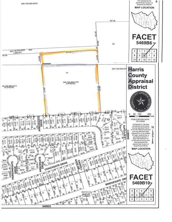 00 Carl Road, Spring, TX 77373 (MLS #92615341) :: Parodi Group Real Estate