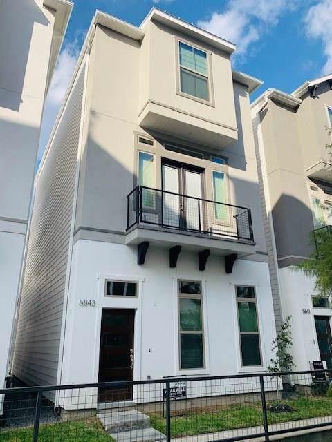 5847 E Post Oak Lane, Houston, TX 77055 (MLS #94603647) :: Texas Home Shop Realty