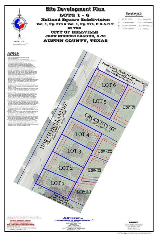 425 North Holland Street, Bellville, TX 77418 (MLS #95077236) :: The Parodi Team at Realty Associates