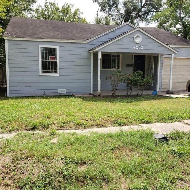 4202 Dreyfus Street, Houston, TX 77021 (MLS #95233662) :: Keller Williams Realty