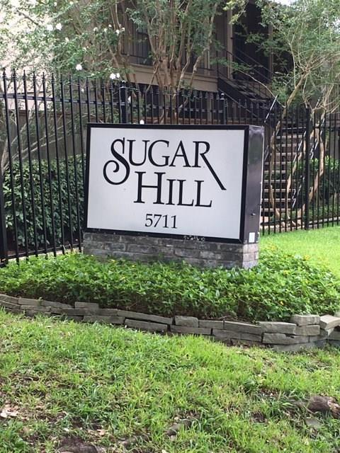 5711 Sugar Hill Drive #84, Houston, TX 77057 (MLS #95728969) :: The Bly Team